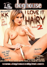 I Love It Hairy Volume 02 DVD Cover