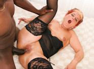 Granny Fucking : Grandma likes Black love stick - Jana & Joss Lescaf!