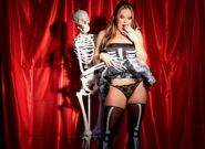 Silvia and Jessie Are Halloween Hotties, Scene #01