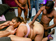 Big Black Gang Bang #04, Scene #01