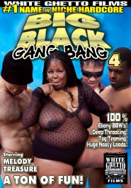 Big Black Gang Bang #04 DVD Cover