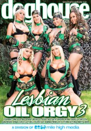 Lesbian Oil Orgy #03 DVD Cover