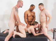 Hairy Cunt : My hairy Gang Bang #05 - Kiki Daire & Eric Jover!