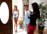 Mature and Young : Couples Seeking Teens #12 - Veronica Avluv & John Strong & Jessa Rhodes!