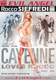 Cayenne Loves Rocco DVD Cover