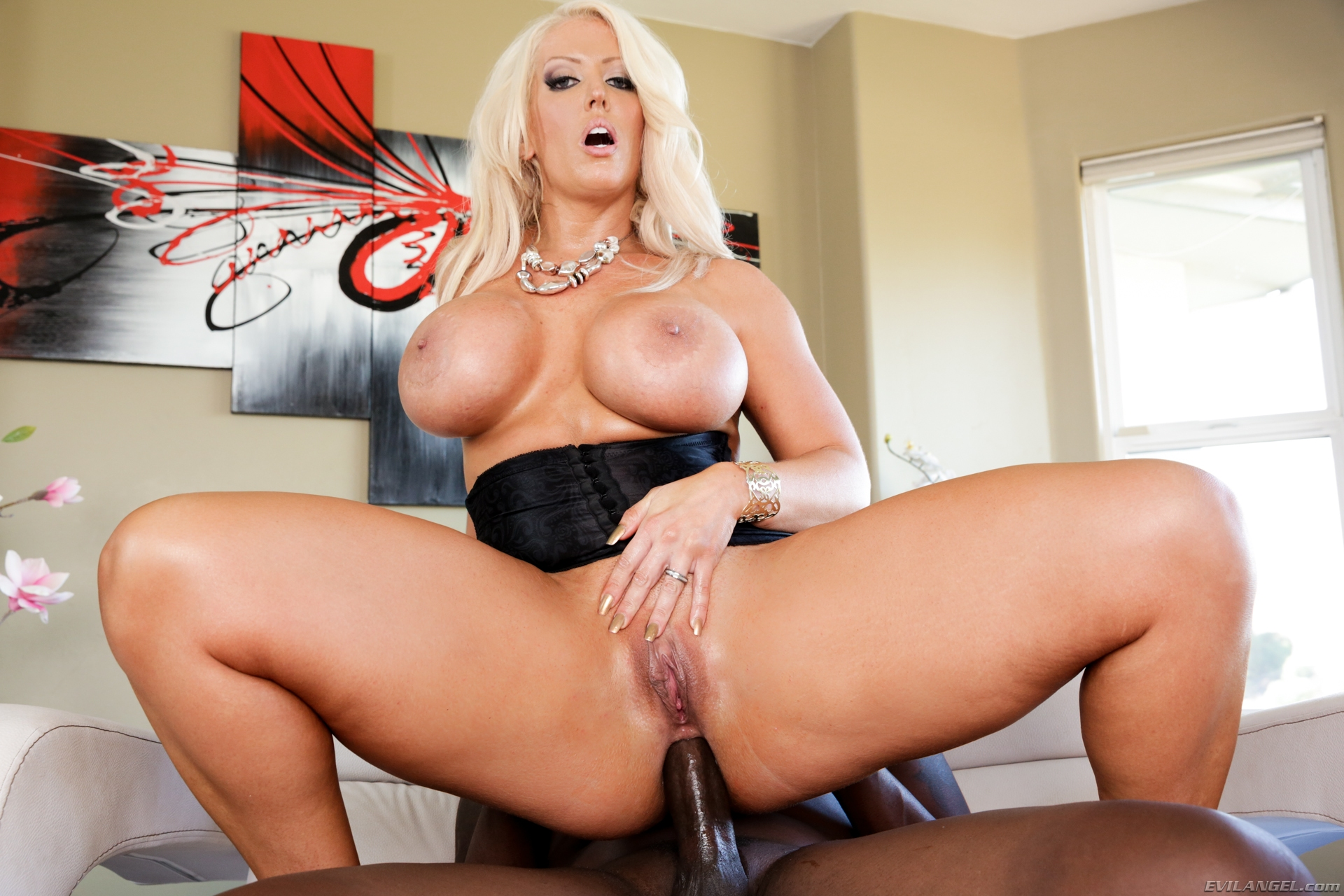 Nikki benz reamed in the ass hard and cummed on 2