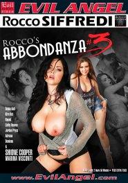 Rocco's Abbondanza #03 DVD Cover
