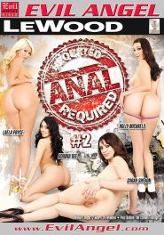 Anal Required #02 DVD Cover