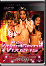 POV Video Game Vixens Dvd Cover