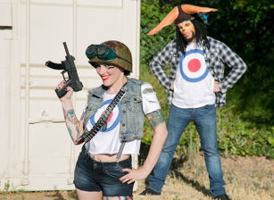 Tank Girl and Booga, Scène 1