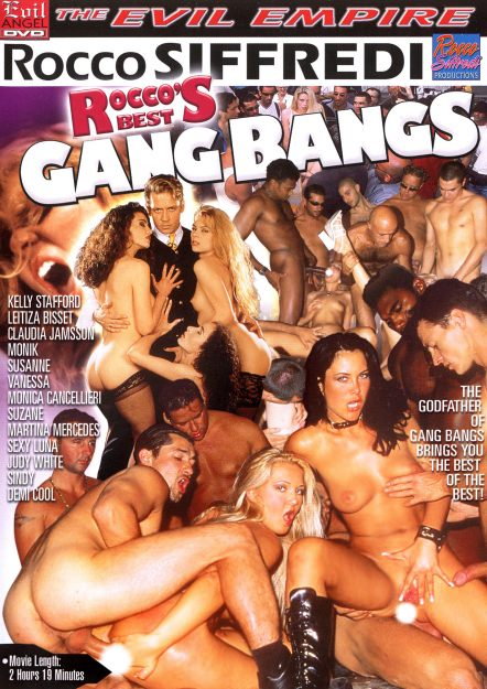 Rocco's Best Gang Bangs Dvd Cover