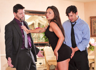 Seduced By The Boss's Wife #04, Scene #01