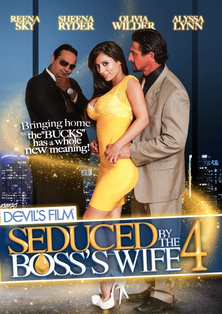 Seduced By The Boss's Wife #04 Dvd Cover