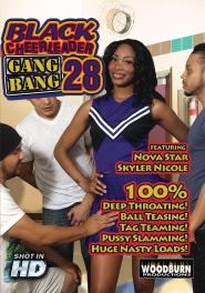 Black Cheerleader Gang Bang #28 DVD