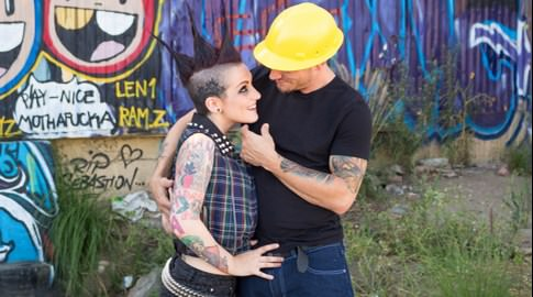 Street punxxx part 1 rizzo ford mr pete. A new girl shows up at Squat 138, home to the baddest punk sluts in town. orgasm addict Rizzo Ford took Amelia Dire her under her wing, and mohawk, to go spanging for enough money for Small Hands' shrimp ramen. A construction worker wanted to know why he should give her his heavy-earned money - she needed a mash pad to flick her bean! Mr. Pete felt her pain and was ready to help by taking her to a cheap motel to have sexual intercourse it out. Mr. Pete's penish was the cleanest she'd ever sucked, and didn't taste like garbage! Is getting railed heavy by a nice piece of man meat still vegan Life on the streets is tough!
