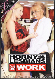 Horny Lesbians At Work DVD Cover