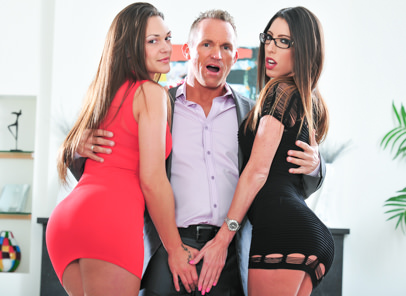 My husband brought home his femdom 09 marcus london olivia wilder dava foxx. Dava Foxx enjoys her husband banging dominatrix Olivia Wilder.