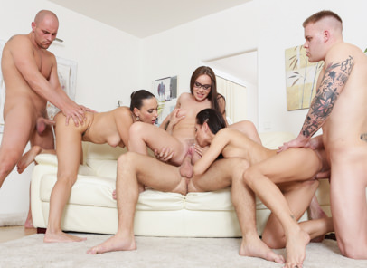 Swingers orgies 12 kari mea melone wendy moon. The girls have an idea to have sex each others boyffriends