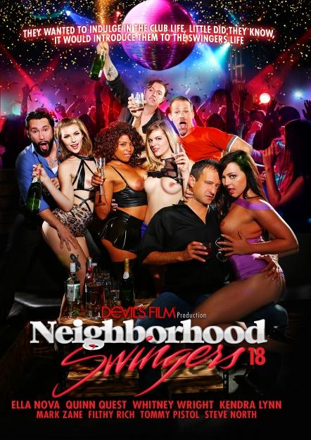Neighborhood Swingers #18 Dvd Cover