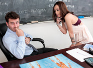 Anatomy tutor james deen lily jordan. Lily Jordan needs a lot of help with body, she always wondered why the body chart doesn't show a detailed penis So she asked James Deen to give her an up-close view to his jewels for education sake. His body is quite great and leaves her mouth watering and panties soaked. She needs to feel his huge cock in her tight little vagina right now!