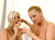 Silvia And Ambra - Ice Cream , Scene #01