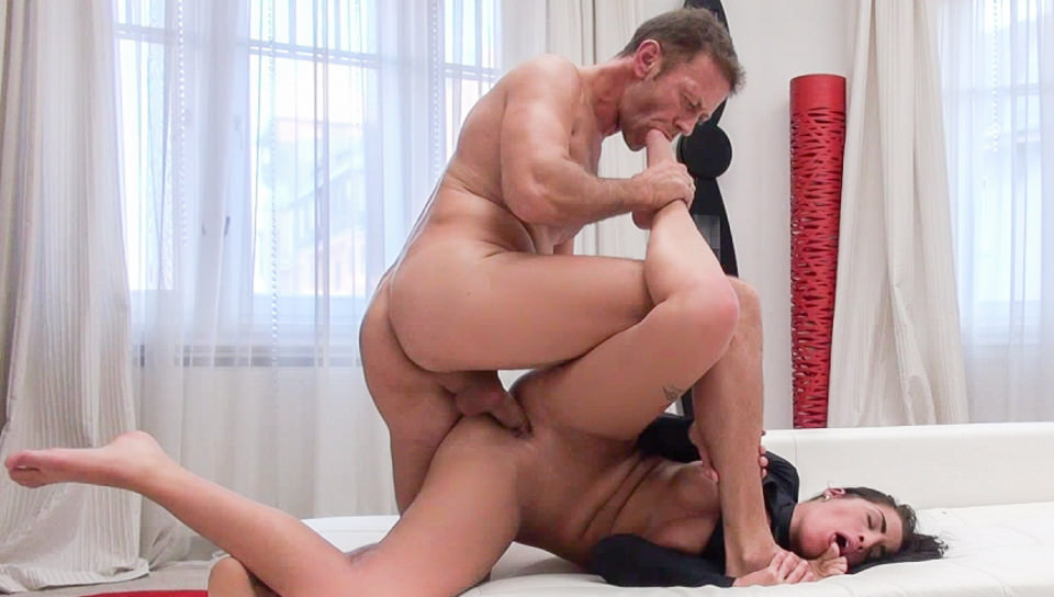Nasty Four-Way Porn Audition