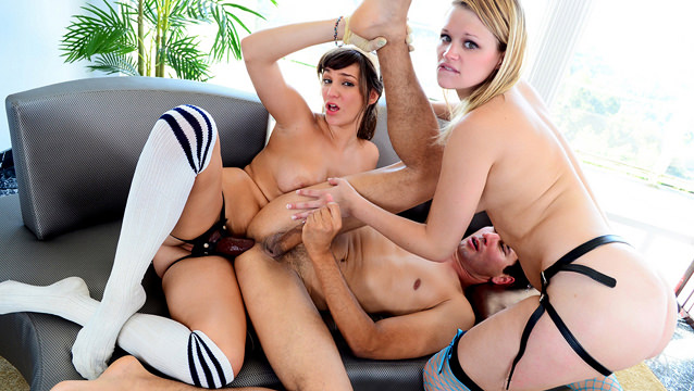 Gabriel D'Alessandro, Heather Starlet, Holly Michaels