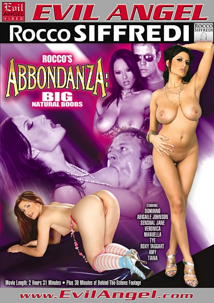 Rocco's Abbondanza:Big, Natural Boobs Dvd Cover