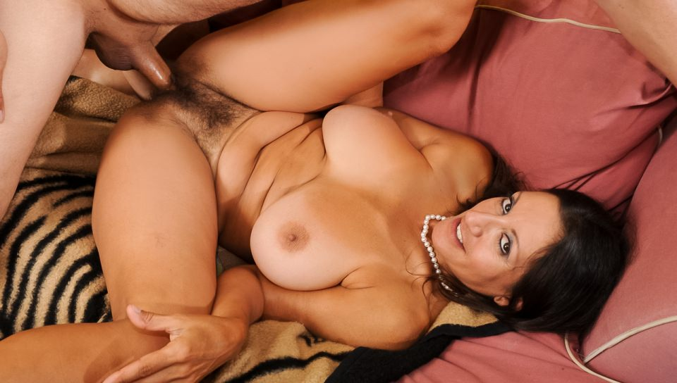 Busty and hairy, Persia Monir likes good fuck